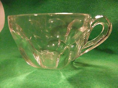 Vintage Arched  paneled Punch Cup 1850-1910
