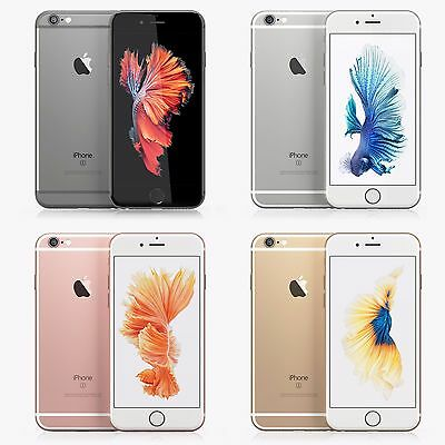 NEW Apple Iphone 6S 16GB64GB128GB GSM UNLOCKED GOLD SPACE GRAY SILVER ROSE