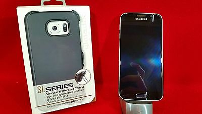 SAMSUNG GALAXY S6 32GB BLACK VERIZON UNLOCKED GSM FOR AT-T T-MOBILE       910