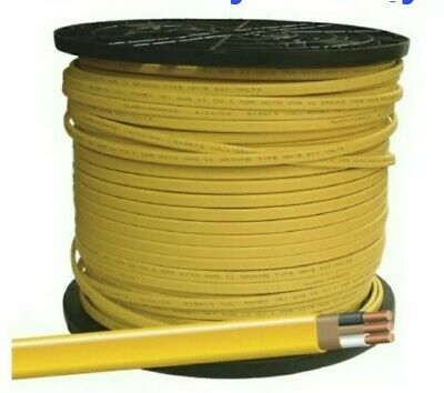 122 WGROUND ROMEX INDOOR ELECTRICAL WIRE 50 FEET YELLOW OR PINK READ DESCRIP