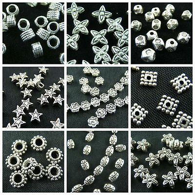 wholesale Lot  Tibet Silver Spacer Bead For Jewelry Making