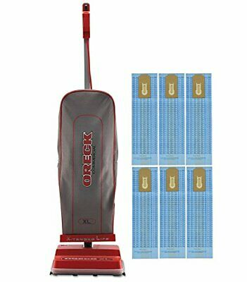 Oreck Commercial U2000RB-1 Commercial 8 Pound Upright Vacuum with 6 Oreck Bags