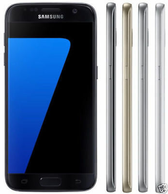 New 5-1 Samsung Galaxy S7 SM-G930A 32GB 12MP AT-T Unlocked Android Smartphone
