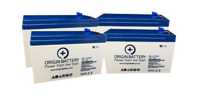 CyberPower OR1500PFCRT2U Battery Replacement - 4 Pack 12V 7AH High-Rate Discharg