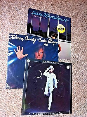 CLASSIC ROCK lot of vinyl records albums lps ALL SEALED