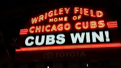 2 Tickets- Cubs vs Tampa Bay 7-5-2017 120pm- TURNING TWO BOBBLEHEAD SGA