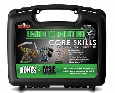 Bones Miniatures Learn to Paint Kit Reaper Miniatures