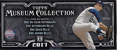 2017 Topps Museum Collection Baseball Hobby Box BRAND NEW - FACTORY SEALED