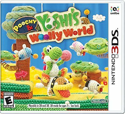 Poochy - Yoshis Woolly World - Nintendo 3DS Standard Edition