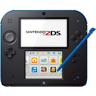 Nintendo 2DS Electric Blue - FACTORY REFURBISHED BY NINTENDO