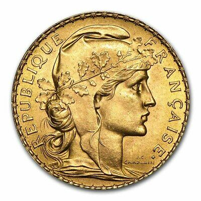 SPECIAL PRICE France Gold 20 Francs French Rooster AU Random - SKU 152604