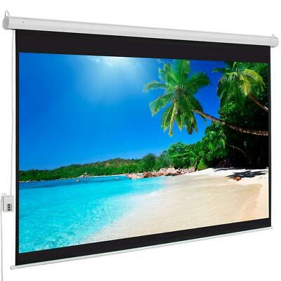 100 43 Material Electric Motorized indoor Projector Screen -Remote