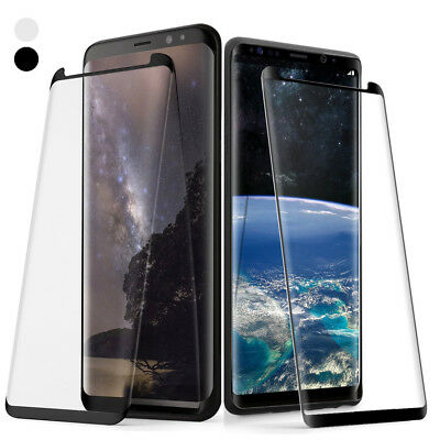 Poetic Galaxy S8 S8 Plus 3D Curved Edge Tempered Glass Screen Protector 2 Color