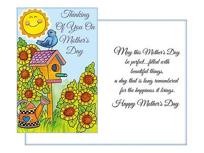 Mothers Day Greeting Cards  Collection 2  Single Greeting Card w Envelope