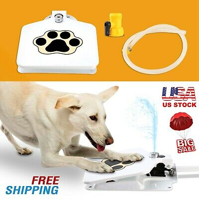 Outdoor Trouble-Free Dog Pet Drinking Doggie Activated Water Fountain 41 Hose