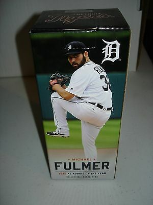 Michael Fulmer Detroit Tigers Bobblehead Rookie of the Year Unopened New Mint
