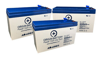CyberPower OL1500RTXL2U Battery Replacement Kit - 3 Pack 12V 9AH High-Rate