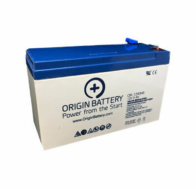 CyberPower RB1280A Battery Replacement 12V 9AH High-Rate Discharge