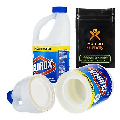 Clorox Jumbo 64 oz Large Diversion Safe Stash Can w HumanFriendly Smell-Proof-