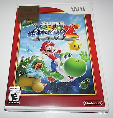 Super Mario Galaxy 2 for Nintendo Wii Brand New Factory Sealed