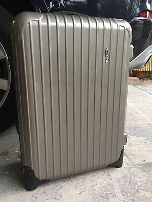 Rimowa Salsa 21 Cabin Carry On Hard Side Suitcase Luggage Case Travel