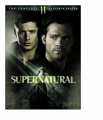 Supernatural The Complete Eleventh Season 11 - 6 Disc DVD Set Free Ship NEW