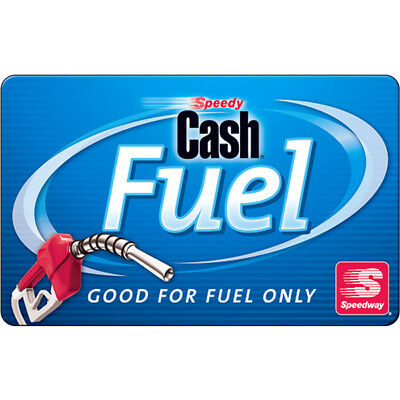 100 Speedway Gas Gift Card For Only 94 - FREE Mail Delivery