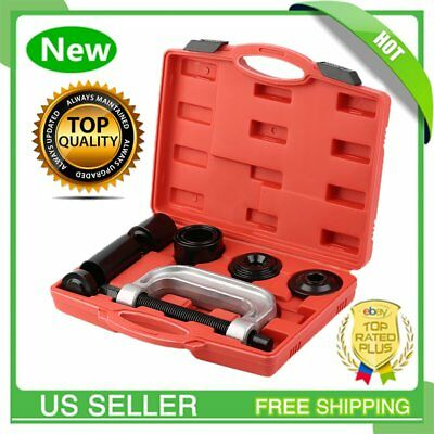 4 IN 1 Auto Truck Ball Joint Service Tool Kit 2WD And 4WD Remover Installer BT