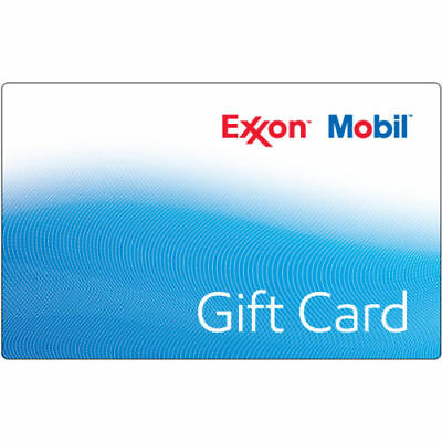 100 ExxonMobil Gas Gift Card For Only 93 - FREE Mail Delivery
