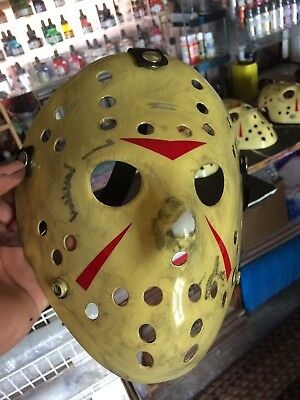 Jason Voorhees Part 3 Hockey Mask Accurate Paint Job Friday The 13th