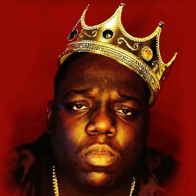 The Notorious B-I-G- Biggie Smalls poster wall decoration photo print 24x24 inch