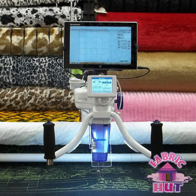 Juki TL-2200QVP Quilt Virtuoso Long Arm Quilter Frame Quilt Motion - Tablet
