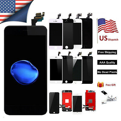 OEM For iPhone 5 6s 6s Plus LCD Touch Screen Digitizer Replacement - Home Button