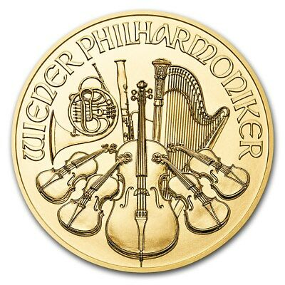 2018 Austria 1 oz Gold Philharmonic BU - SKU 159270