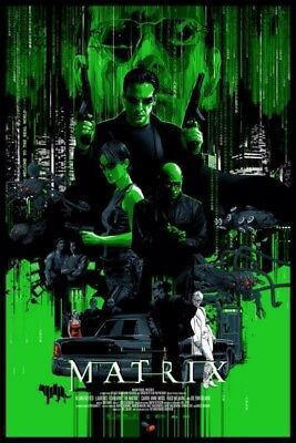 The Matrix Variant by Vance Kelly – Sold Out Nt Mondo