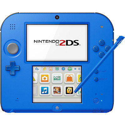Nintendo 2DS Electric Blue 2 - FACTORY REFURBISHED BY NINTENDO