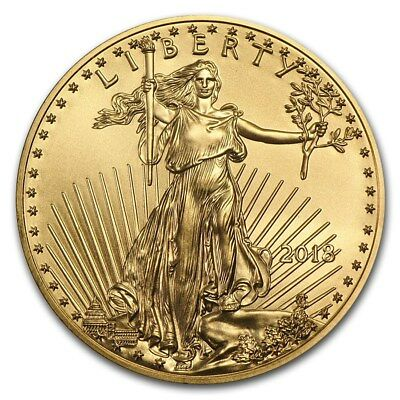 2018 1 oz Gold American Eagle Coin BU - SKU 159696