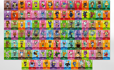 NEW Animal Crossing Amiibo Cards - Series 3 201-300 US Version PICK CARDS