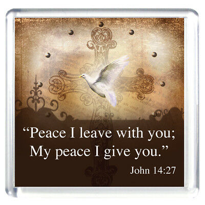 """""""Peace I Leave With You; My Peace I Give You"""" Magnet / Two Magnets"""