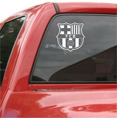 FC BARCELONA Vinyl DECAL 5 Car Truck Window STICKER Futbol Soccer Spanish Spain
