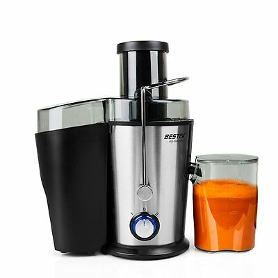 Juice Extractor BESTEK 400-Watt Big Mouth Fruit Juicer Machine with Dual Speed