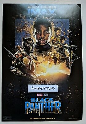 Marvel Black Panther IMAX 13 x 19 Poster ORIGINAL MINT Ships Rolled In Tube