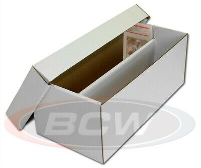 BCW Graded Card Shoe Storage Box 2 Row PSA Beckett - Other Graded - Lid NEW