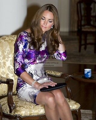 PRINCESS KATE MIDDLETON DUCHESS OF CAMBRIDGE - 8X10 PHOTO AZ619