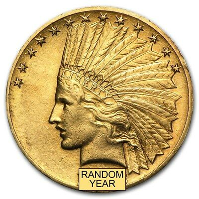 10 Indian Gold Eagle XF Random Year - SKU 166890