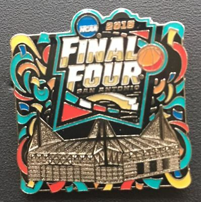 2018 MENS FINAL FOUR STADIUM PIN SAN ANTONIO MARCH MADNESS PATCH STYLE DESIGN