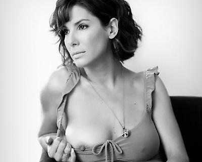 Sexy Smoking Hot Pinup Sandra Bullock Young and Sexy 8 x 10