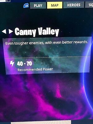 Fortnite Xbox one save the world Canny Valley drop off