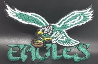 Philadelphia Eagles Iron On Embroidered PatchFree Shipping From the U-S-A-