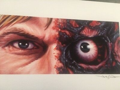 Jason Edmiston Harvey Dent Two Face Eyes Without A Face Ewaf Rare Sold Out Mondo